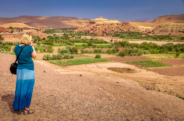Photographing Ait Benhaddou
