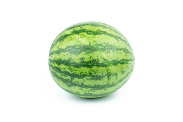Water melon isolated on the white background.