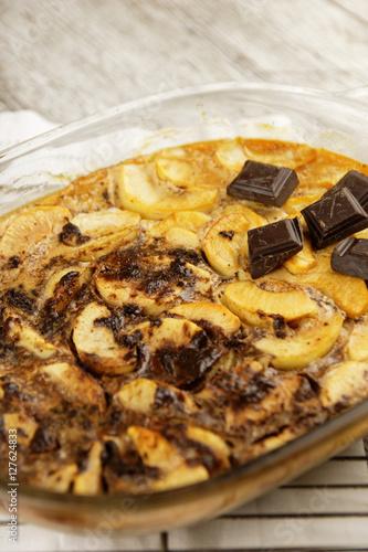 quot dessert aux pommes et chocolat quot imagens e fotos de stock royalty free no fotolia imagem