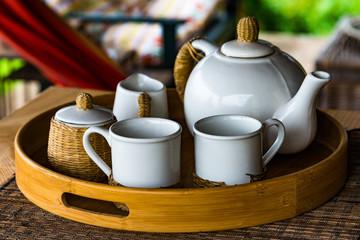Breakfast coffee set I