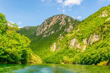 Matka canyon in macedonia near skopje