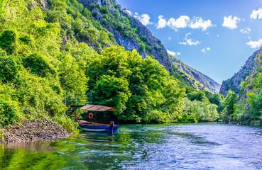 Fototapeta Matka canyon in macedonia near skopje obraz