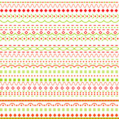 Whimsical background with dots and  lines