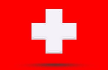 Symbol hospital medical.