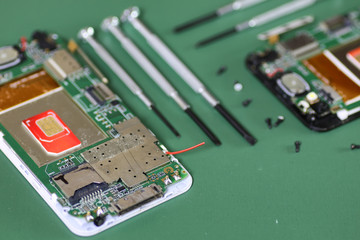 phone chip micro repair