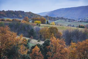 L'Ardèche en automne