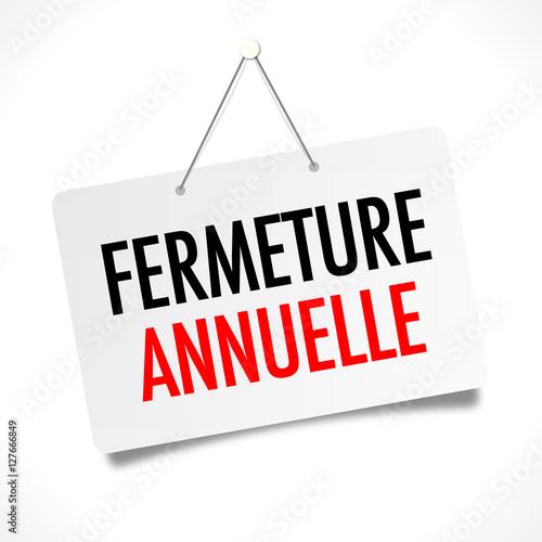 """Résultat de recherche d'images pour """"fermeture annuelle"""""""