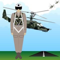 Military Uniform Force pilot-1