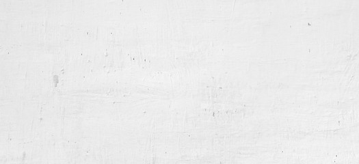 White Wash Shabby Uneven Old Plastered Horizontal Wall Texture B