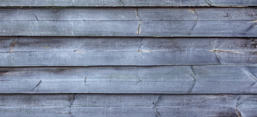 Barn Wooden Wall Planking Texture. Wide Grey Wood Banner Backgro