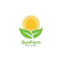 Sun Creative Concept Logo Design Template