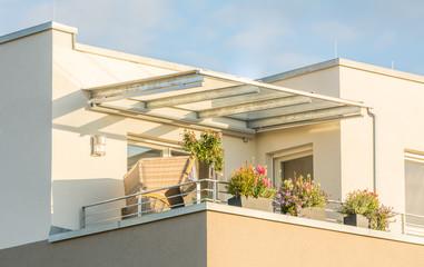 Traumhafte Dachterrasse