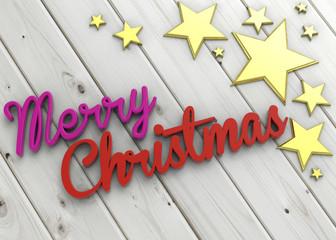 Merry Christmas - 3D