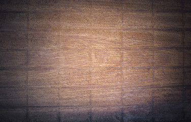 Top view, Brown wood texture. Abstract background, empty template, copy space wood.