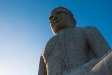 Big Buddha Mountain Manorom Mukdahan province.