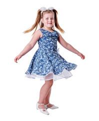 Dancing  school girl