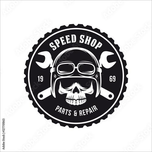 c14fdfa85 Vintage motorcycle t-shirt graphics. Vector illustration.