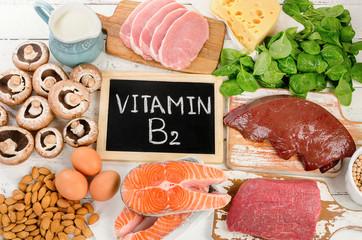 Foods Highest in Vitamin B2 (Riboflavin)