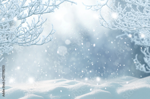 winter christmas backgroundmerry christmas and happy new year