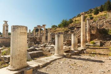 Ancient city of Ephesus in Izmir city, Turkey