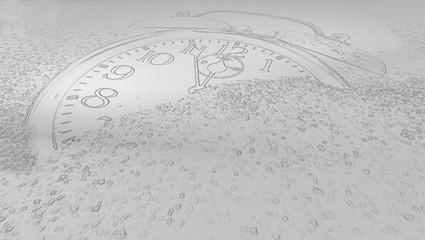 sand image clockwork
