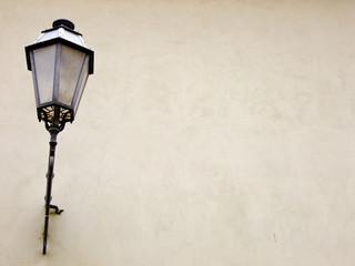 Background with Lantern