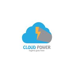 cloud company name logo