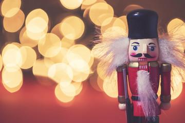 Christmas festive nutcracker soldier