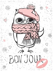 Cute fashion owl
