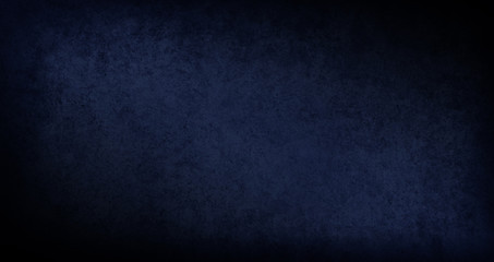 Blank dark blue and black background