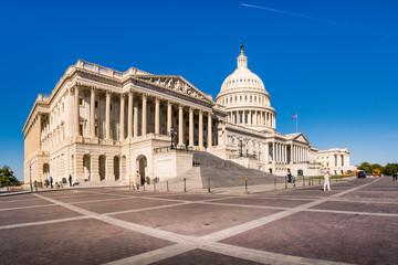 United States Capitol Building Washington DC Panorama November 2