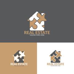 real estate concept  logo icon