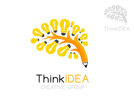 Inspiration tree logo template.