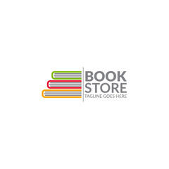 book education concept logo icon