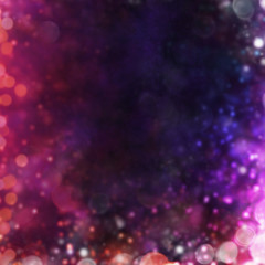 Blurred abstract spot lights background