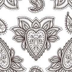 Mehendi pattern vector illustration