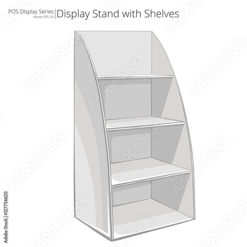 display stand vector free