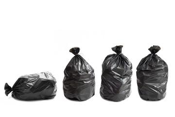 Quattro borse della spazzatura