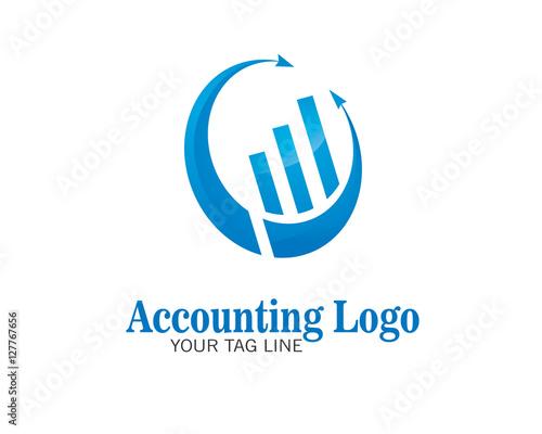 """""""Logo Accounting Vector"""" Stockfotos und lizenzfreie ..."""