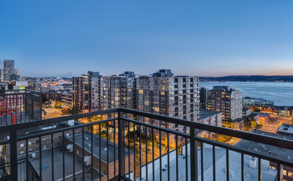 Downtown Seattle at the Blue Hour