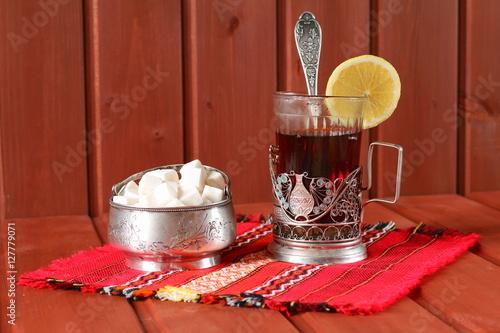 черный чай с лимоном для похудения