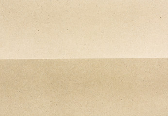 folded for two part brown paper background