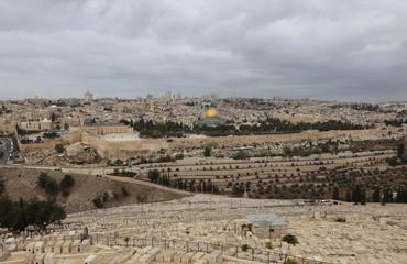 Jerusalem mit Tempelberg. Israel