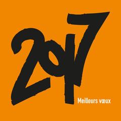 2017 - Carte de vœux - Design