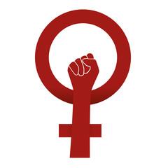 Femme - inégalité - symbole