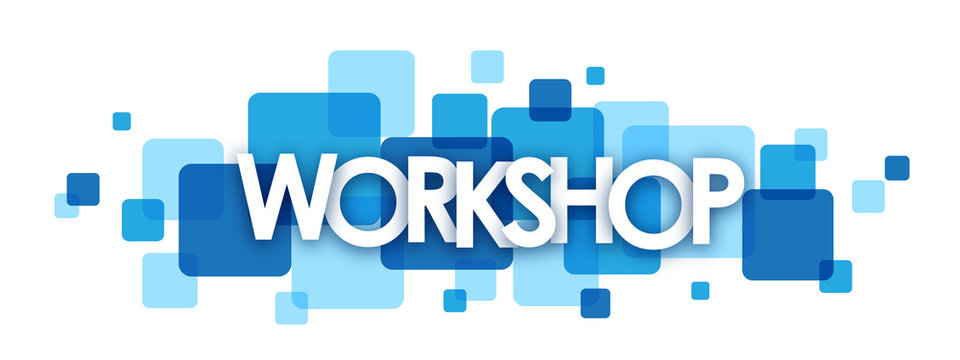 WORKSHOP Vector Letters icon