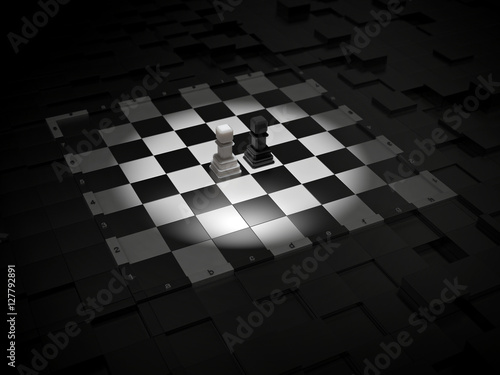 free illustration chessboard render - photo #8