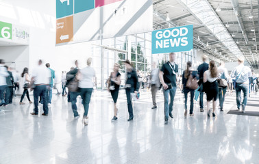Messe Business Stock Photo