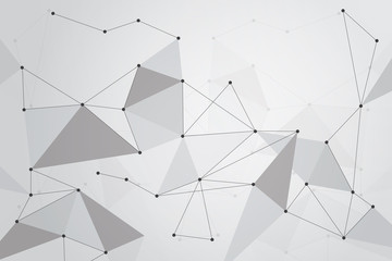 Abstract linear background for design technology and networking science
