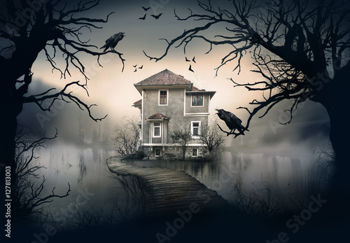 Haunted House on the Lake
